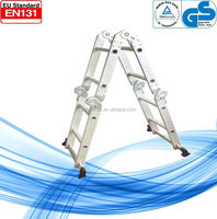 easy folding easy stock en 131 multi-purpose aluminum ladder used in home and factory WK-102