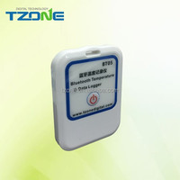 Wireless reports and alerts on the temperature of warehouse zones, clinic refrigerators and the transportation of pharmaceutical