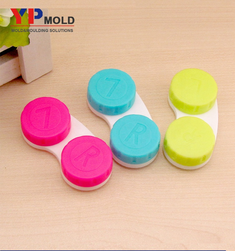 High quality plastic <strong>injection</strong> molded parts contact lens box mould