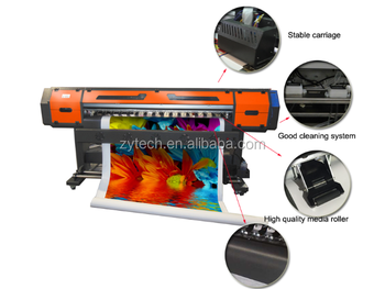 eco solvent large format printer and plotter with dx5 printhead Flora Wer Gongzheng Roland Mimaki