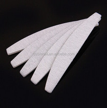 Half-moon filing for nail Hot Selling Customized Printed Nail File