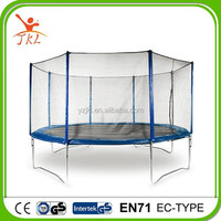 14ft roof trampolin/trampoline with safety enclosure for sale