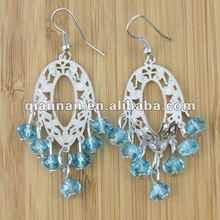 Fashion Jewelry Hot Sale Blue Handmade earring