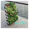 landscaping vertical garden green wall module artificial hanging wall for plants synthetic grass moss turf indoor decor