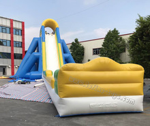 largest beach inflatable jumbo hippo water slide