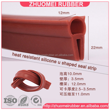 silicone rubber edging seal strip