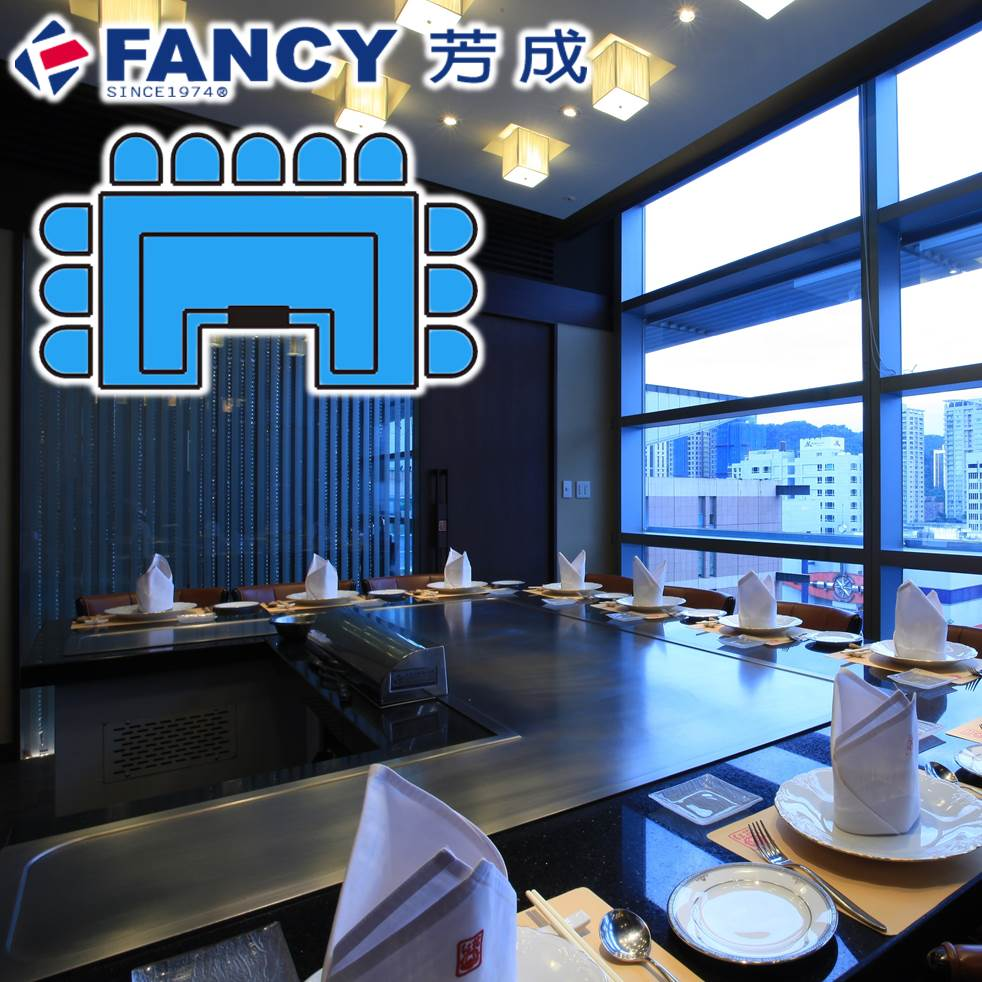 FANCY Cook And Dine Appliance Teppanyaki Grill Menu