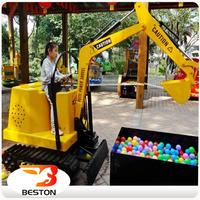 Children Amusement games Toy Excavator mini excavator for sale