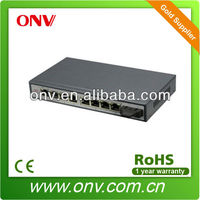 9 Port poe ethernet switchwith and 1 port fiber port