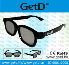 Circular Polarized 3D Glasses Virgin ABS Plastic Cost- effective Compatible Manufacture Passive Light Weight CP297G01