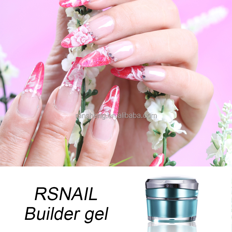 ransheng factory soak off uv Gel builder for nails