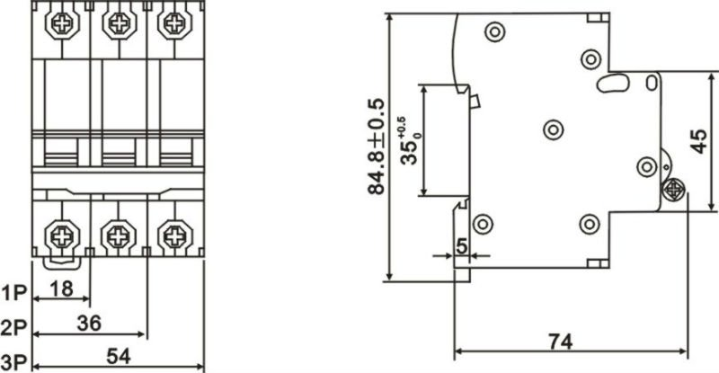 6ka  10ka miniature circuit breaker  view circuit breaker  wosom product details from zhejiang