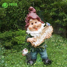 Manufacturer wholesale customized resin garden gnome