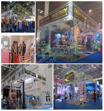 Truss Aluminum Exhibition Trade Show Booth Stand Single Bar Truss Display BOO-SS15
