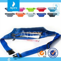 Waterproof nylon running belt waist sport bag
