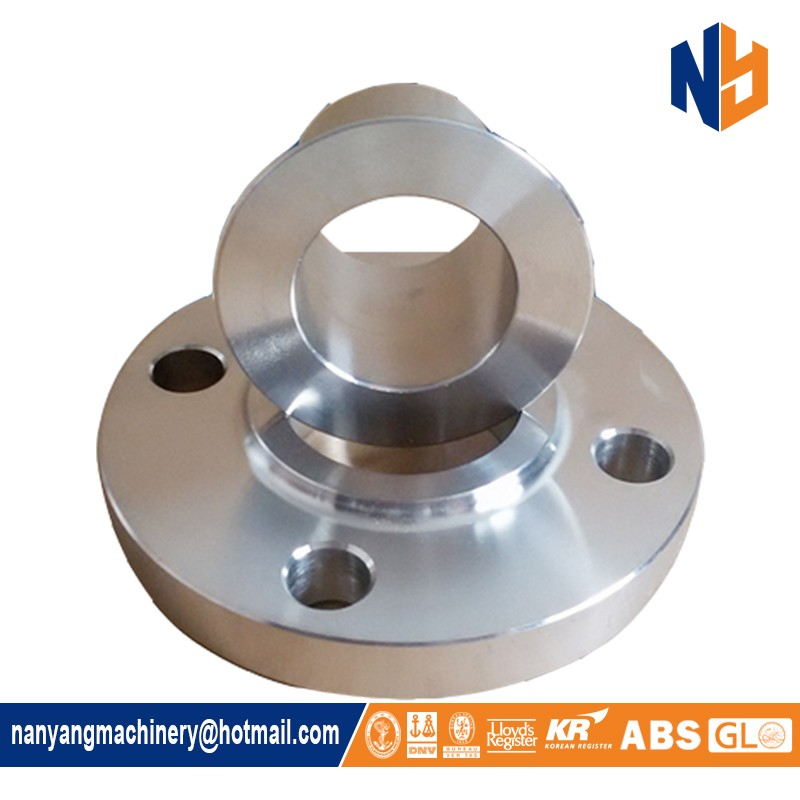 Stainless steel ANSI lap joint flange