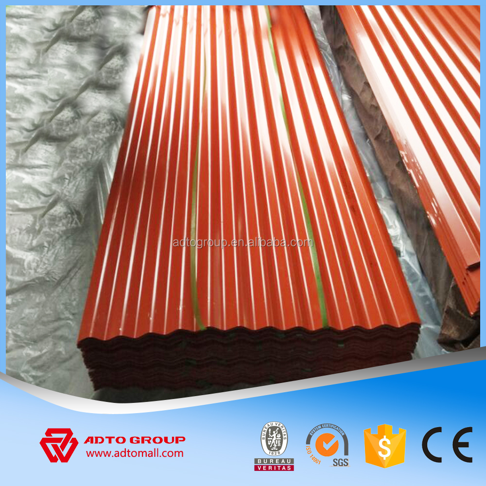 china maufacturer galvanized curving corrugated steel roof sheet