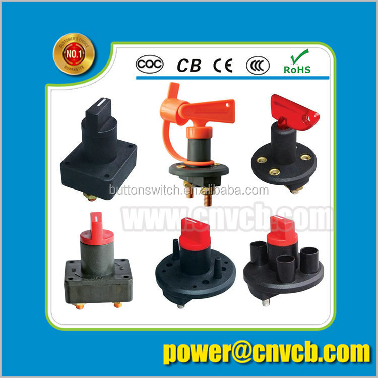 AS18 Professional switch IBA-13-101L 20A 12VDC black SPST 2P long handle toggle switch