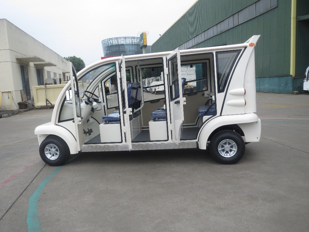 6 seat electric farm vehicle with aluminum hard door, EG6063KBF