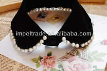 Handmade peter pan collar necklace