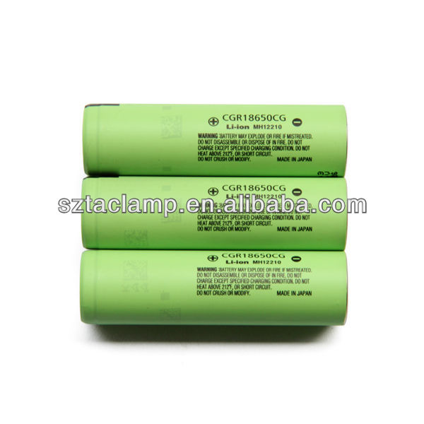 CGR18650CG for Panasonic 18650 2250mah 3.6volts li-ion battery