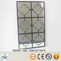 2015 Wonderful unframed beveled edge mirror tiles