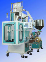 automatic snack packing machine for potato chip, peanut TPY-200 chips snack packing machine