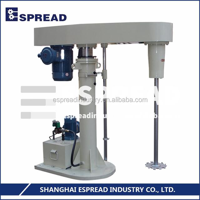Top Quality Assured ESFS Series 0~1000/1200/1500rpm Hydraulic Lift High Speed Disperser Dissolver