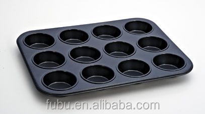 With Telflon Coating safety muffin pan