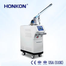 Acne treatment co2 fractional laser ablation machine