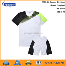 Hot sale blank football uniforms on Alibaba custom new style training soccer jerseys for men