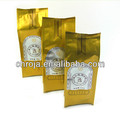 Middle Sealed Food Grade Side Gusset Packaging Bag For Coffe