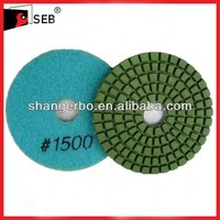 "3"" wet diamond polishing pad 1500# grit"