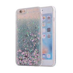 amazon best selling phone accessory color star liquid case for iphone 6 case 6s , for apple 6 plus case liquid glitter