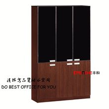 Practical office filing cabinet wooden book racks DH306