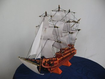 miniature ship