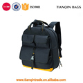 New Design Durable Black/Yellow Electrician Backpack Tool Bag