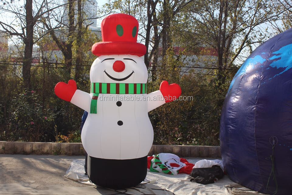 Large airblown inflatable santa claus / Christmas products / Christmas house -- MK-42