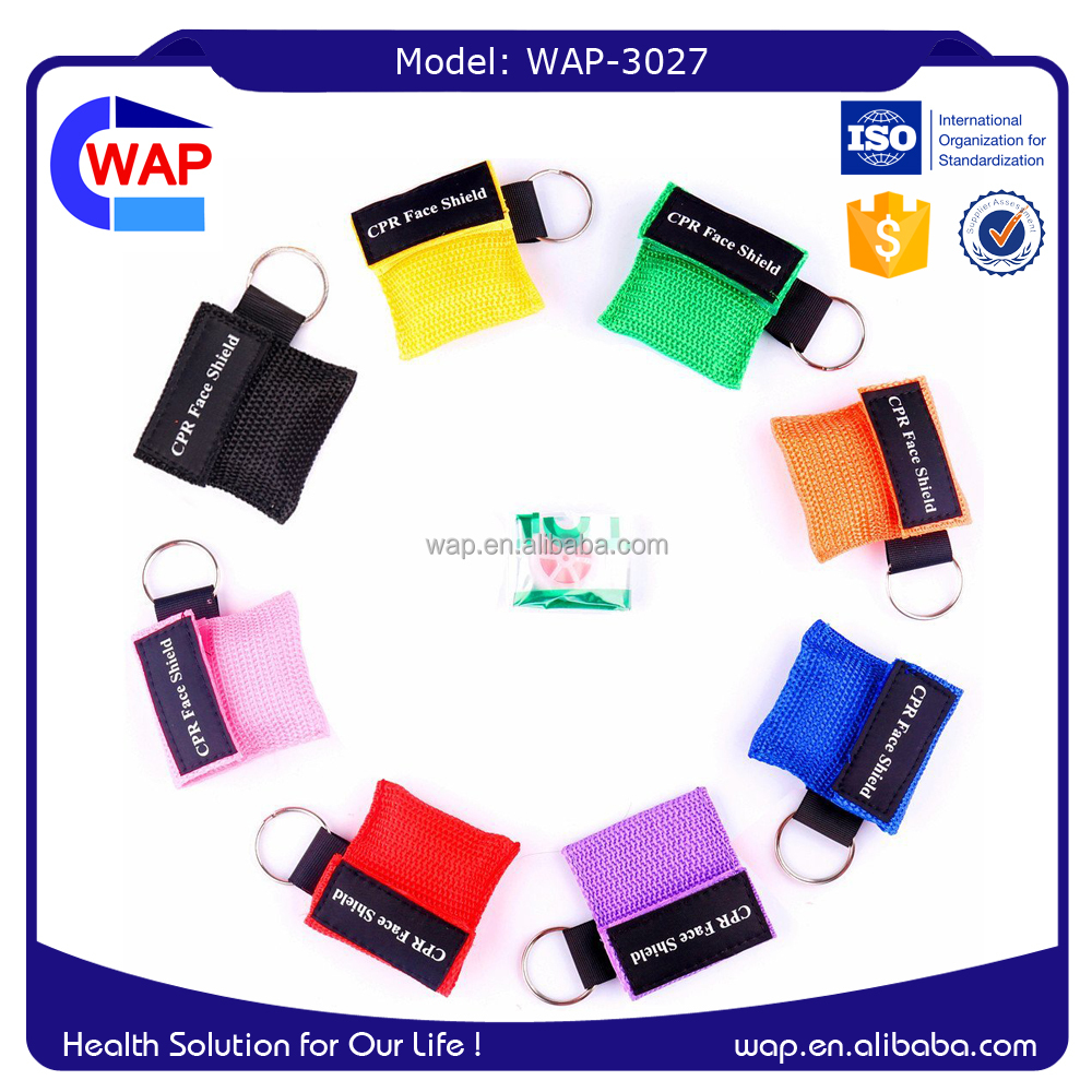WAP-3027 WAP-Health disposable nylon bag one-way valve cpr mask