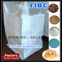 100% New virgin PP woven big bag , jumbo bag FIBC top rated supplier