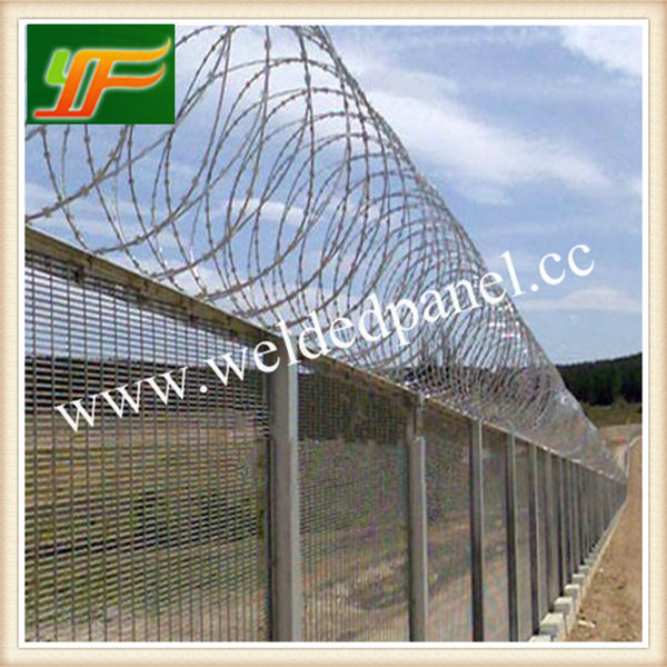 High Quality Anti-Climb 358 Security Fence For Prison