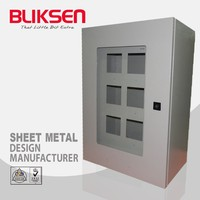 Metal PET preform distributed injection moulding machine control panel enclosure