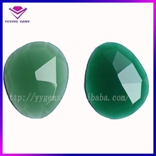 imitation jade glass gems synthetic loose stone jewels jade