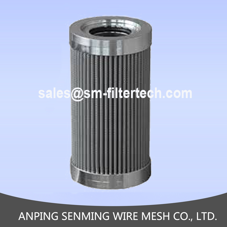 Hot sale high quality 316L stainless steel 5 micron cartridge filter for oil filtration