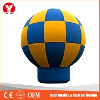 Inflatable advertising balloon , inflatable earth jumping balloons for sale