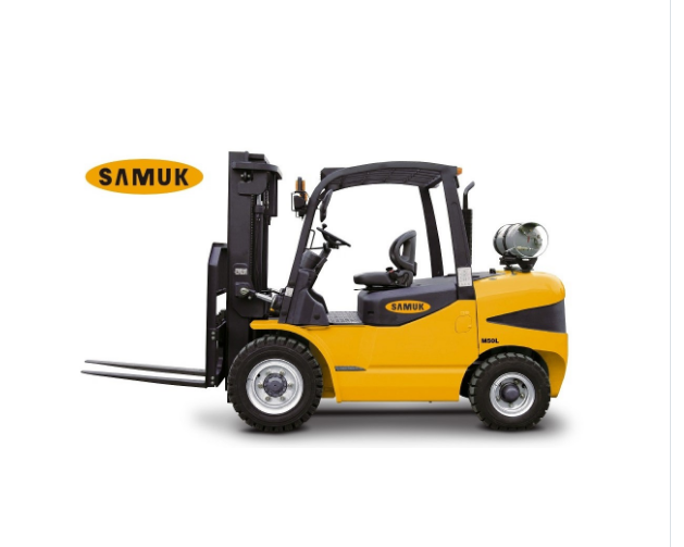 4-7ton Samuk LPG GAS Forklift with GM engine