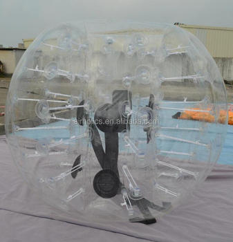 top professional plastic bubble body zorb ball, foot ball, bubble zorb ball