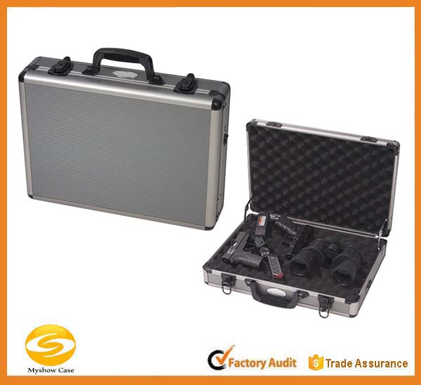 Aluminum Four Pistol Gun Case,Gun storage case,pistol carry case