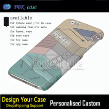 Hard Pc Phone Case Sublimation Printing For Iphone6 6s,Sublimation Geometric Room Dimension Cover Case For Iphone 6 6s