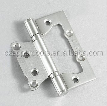 Frameless pool fence wood glass shower door pivot hinge